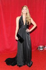AMANDA CLAPHAM at British Soap Awards 2014 in London