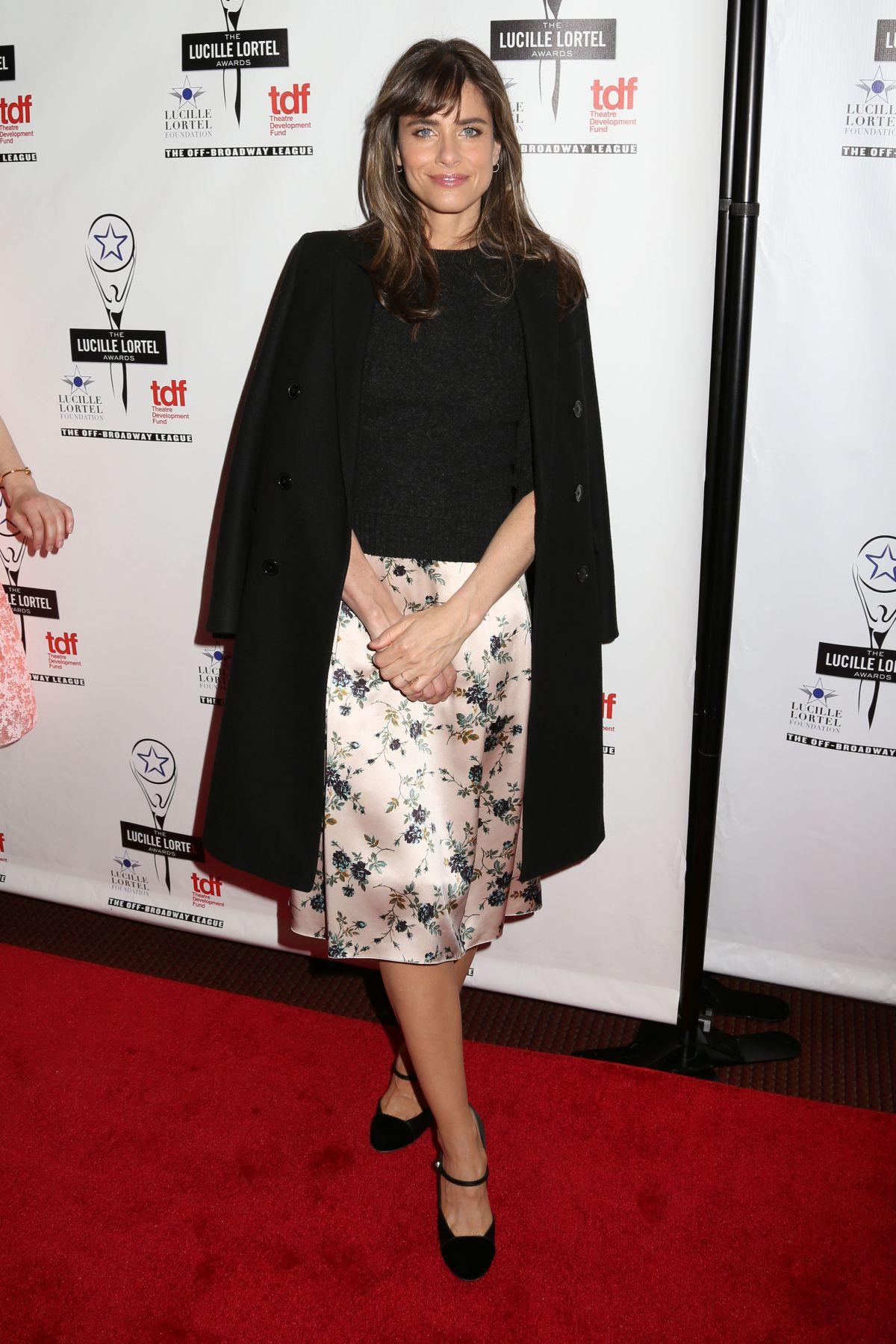 AMANDA PEET at Lucille Lortel Awards in New York