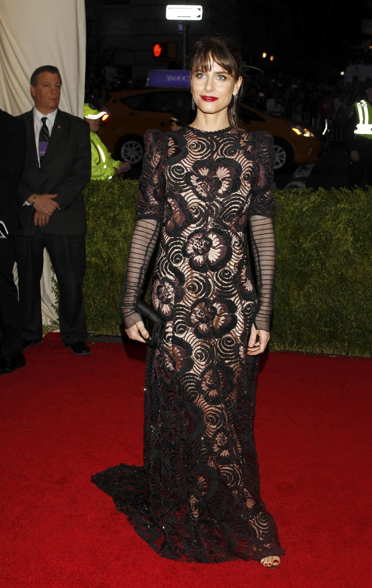AMANDA PEET at MET Gala 2014 in New York