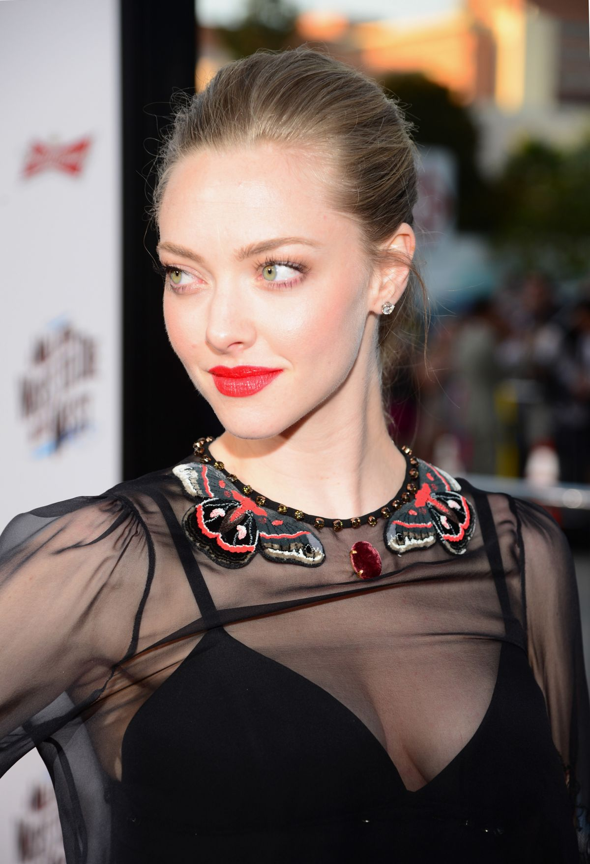 Amanda Seyfried At A Million Ways To Die In The West
