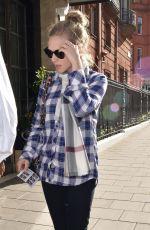AMANDA SEYFRIED Outside Claridges Hotel in London