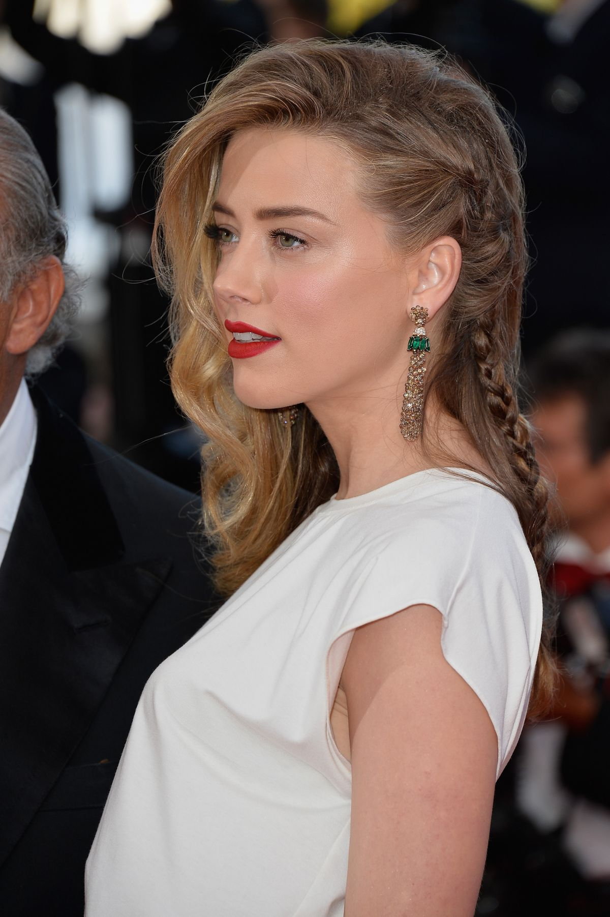 Amber Heard At Two Days One Night Premiere At Cannes Film