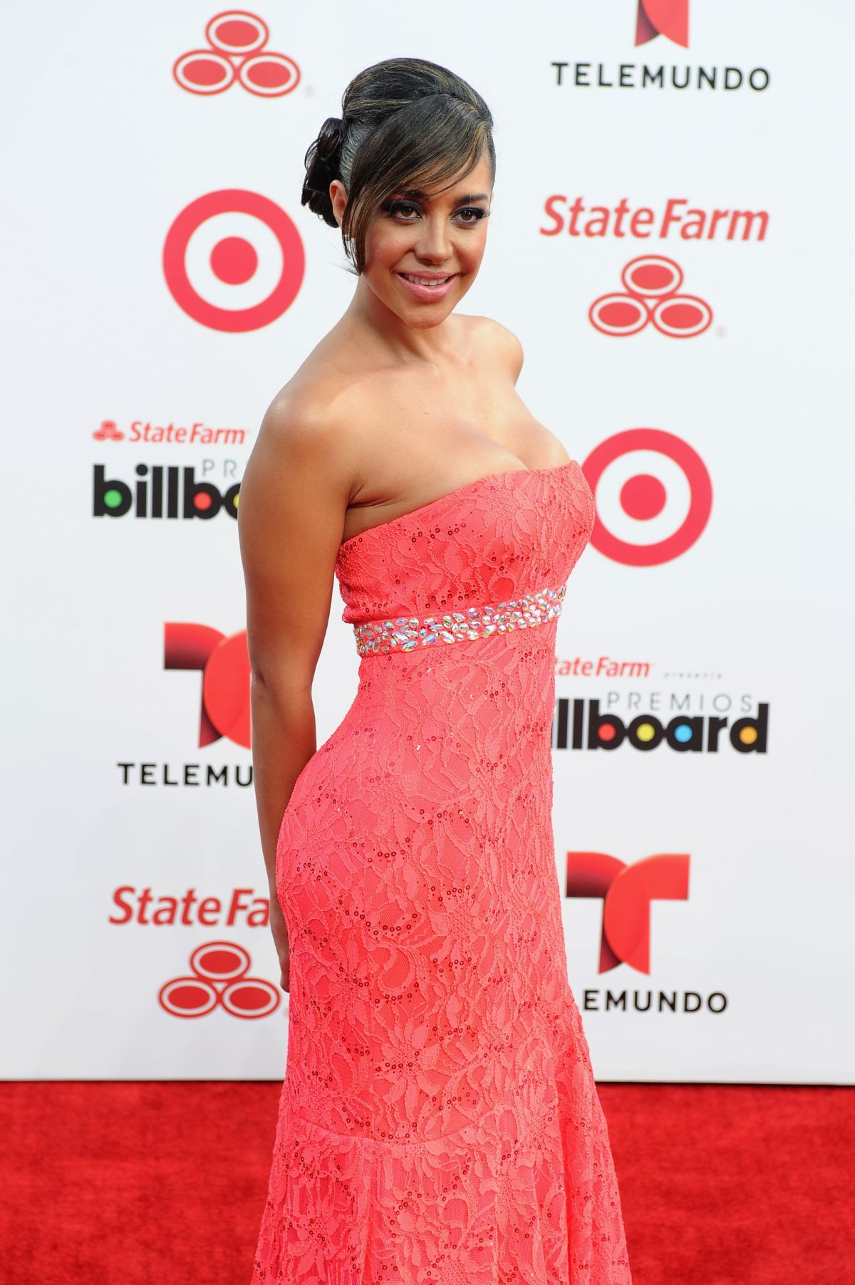 ANDREA CALLE at 2014 Billboard Latin Music Awards in Miami