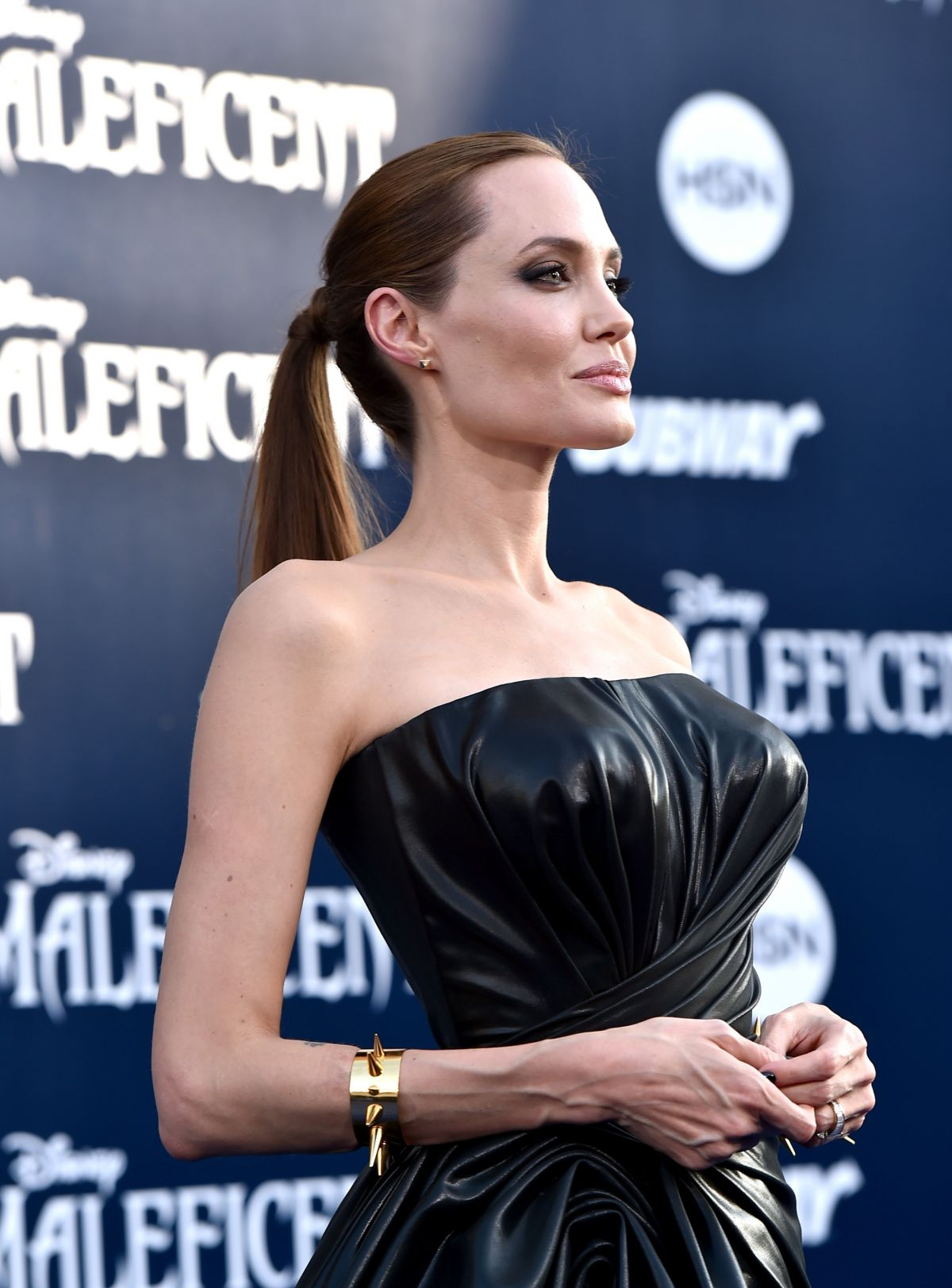 ANGELINA JOLIE at Maleficent Premiere in Hollywood