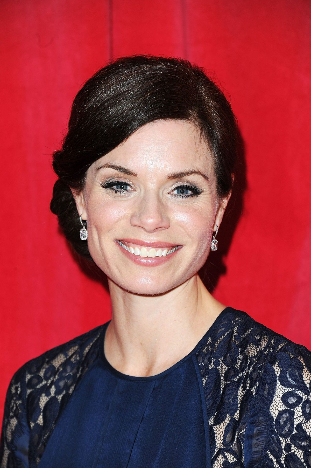 ANNA ACTON at British Soap Awards 2014 in London