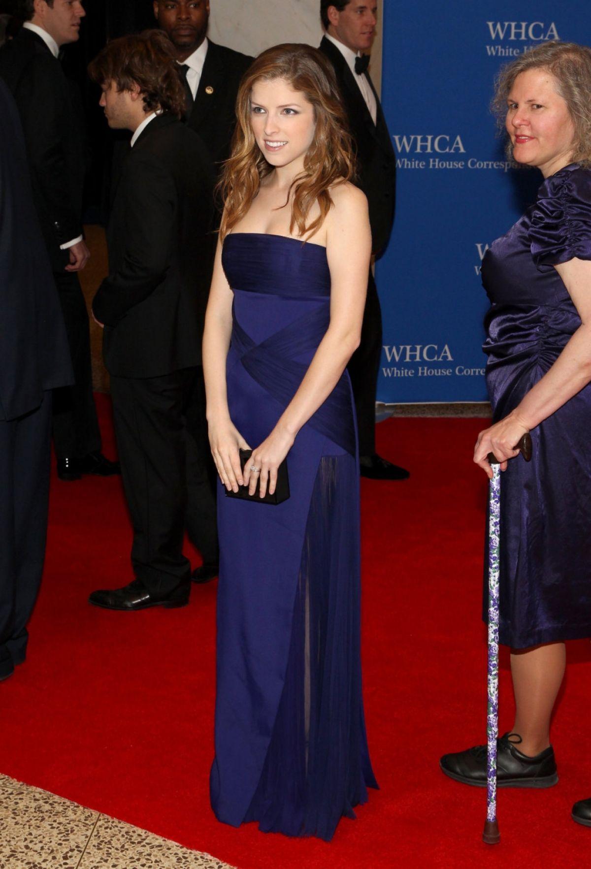 ANNA KENDRICK at White House Correspondents Association Dinner 2014 in Washington