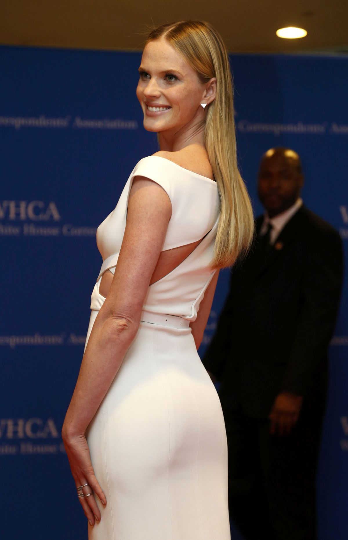 ANNE VYALITSYNA at White House Correspondents Association Dinner 2014 in Washington