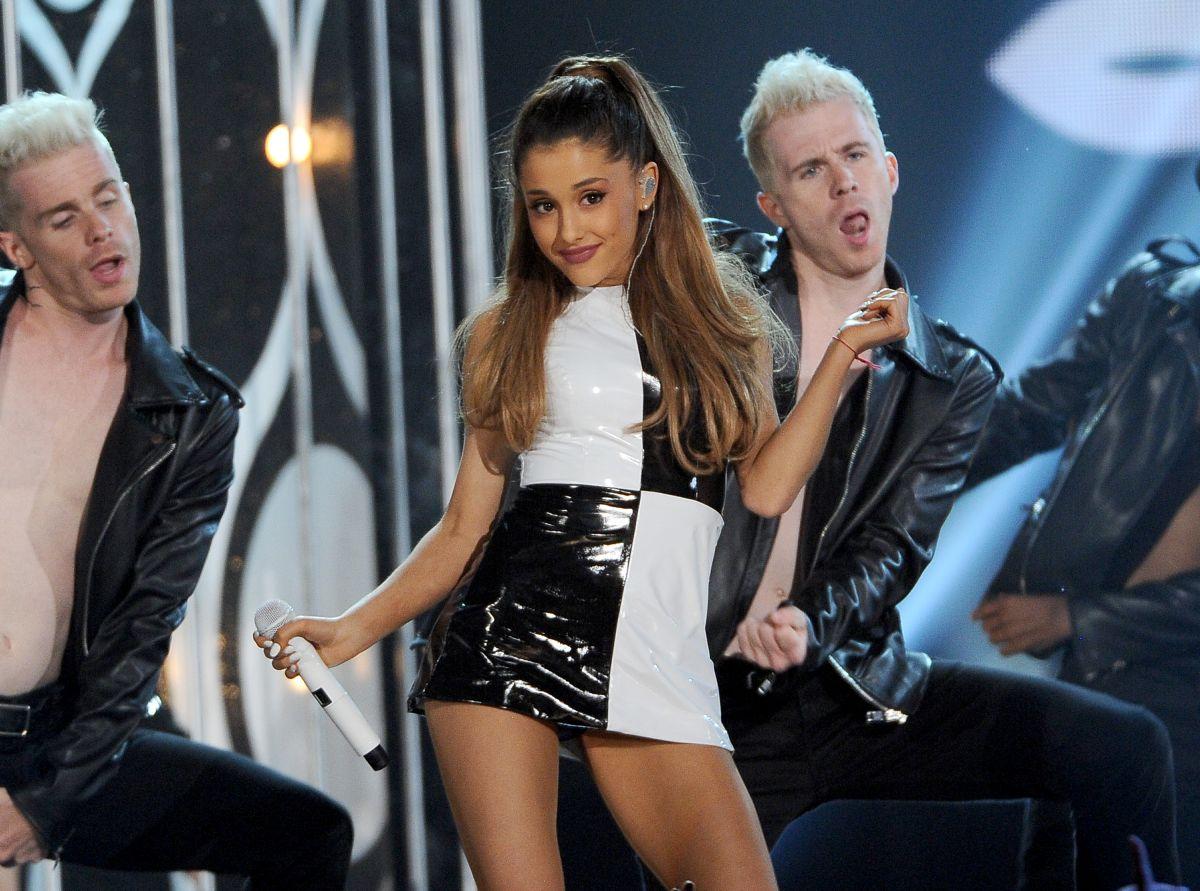 Ariana Grande At Billboard Music Awards In Las Vegas