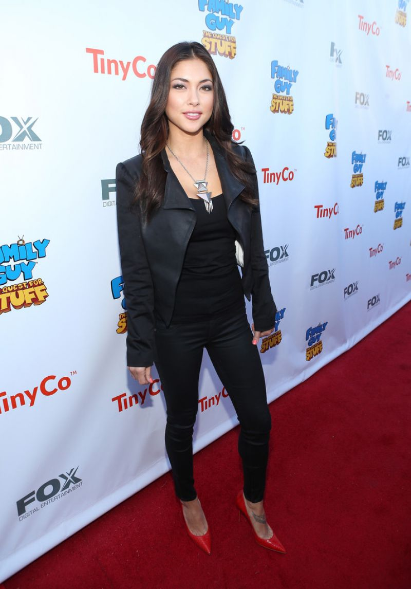 ARIANNY CELESTE at Family Guy: The Quest for Stuff Premiere
