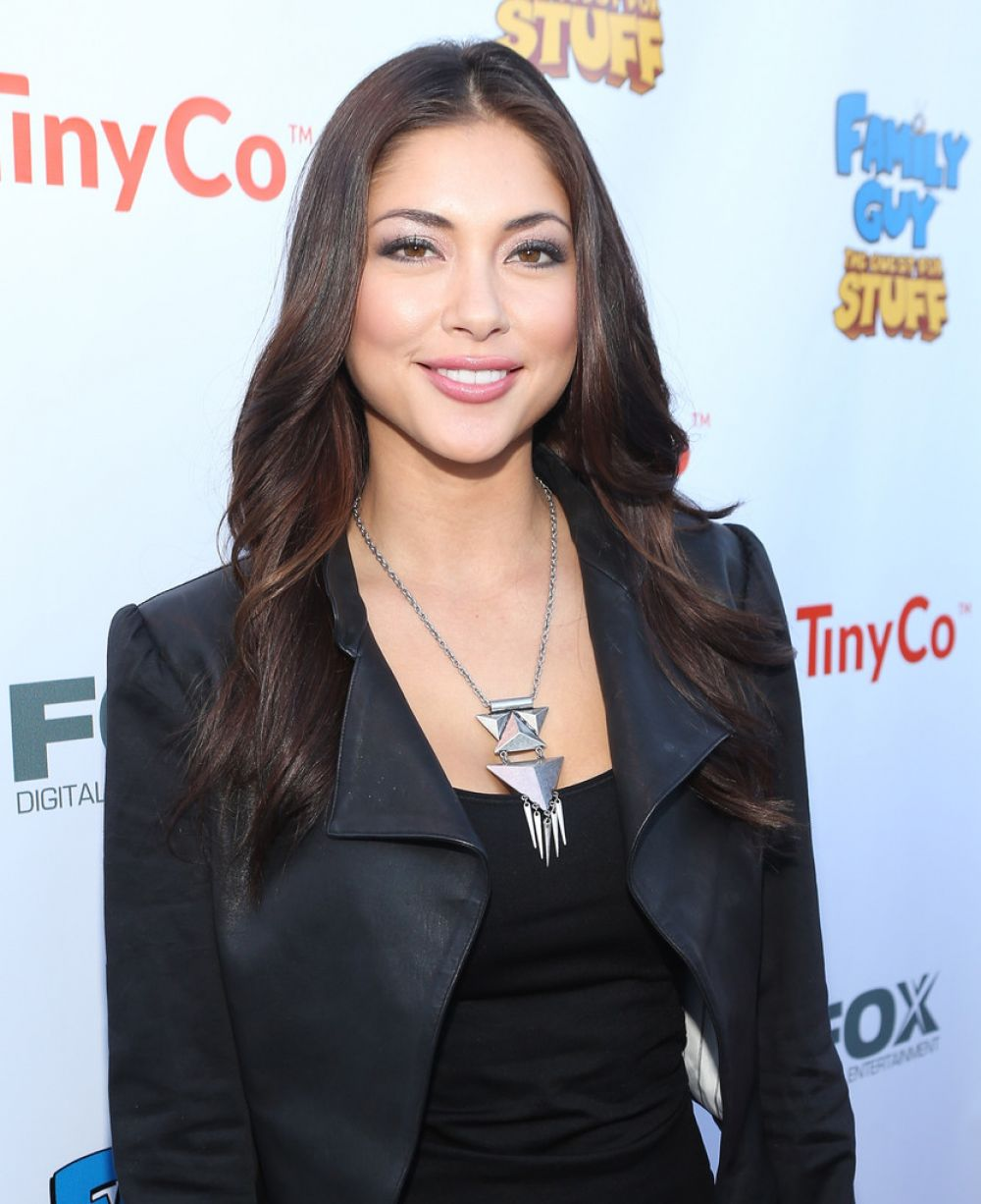 ARIANNY CELESTE at Family Guy: The Quest for Stuff Premiere Party in