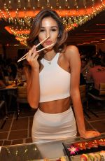 ASHLEY SKY at Encore Beah Club at Night Launch Party