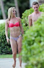 ASHLEY WAGNER in Bikini at a Beach in Hawaii