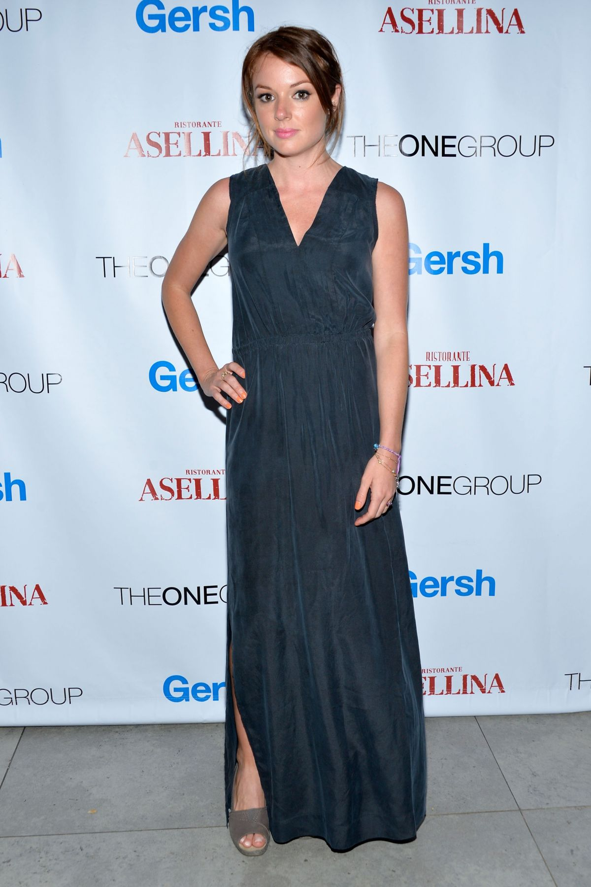 AUBREY DOLLAR at Gersh Upfronts Party in New York