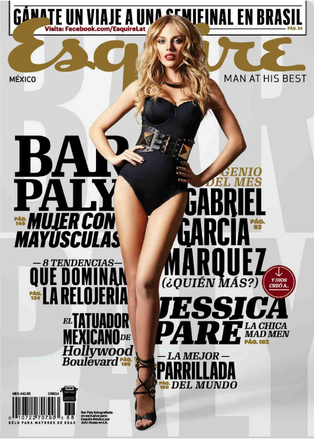 BAR PALY in Esquire Magazine, Mexico May 2014 Issue