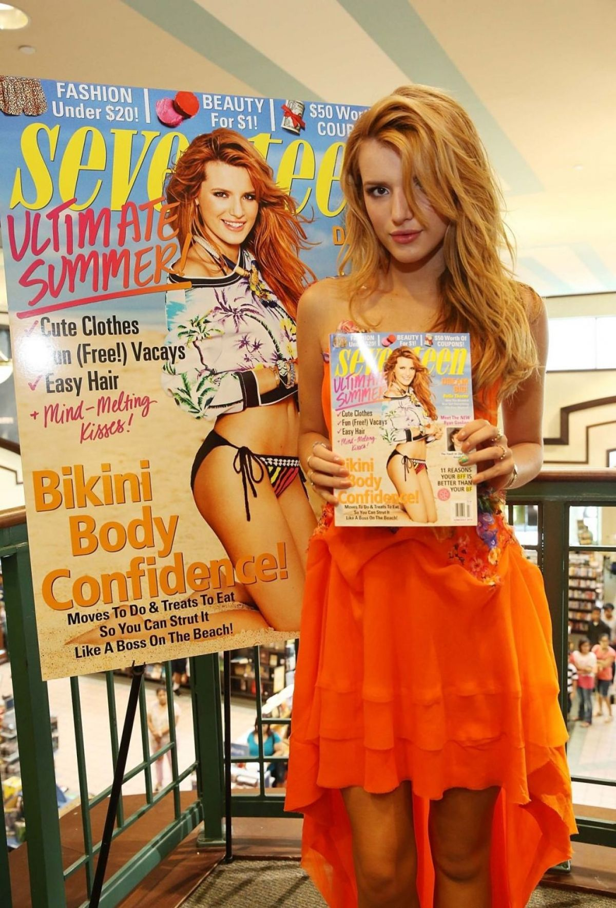 BELLA THORNE at Seventeen Magazine Signing at Barnes & Noble in Miami