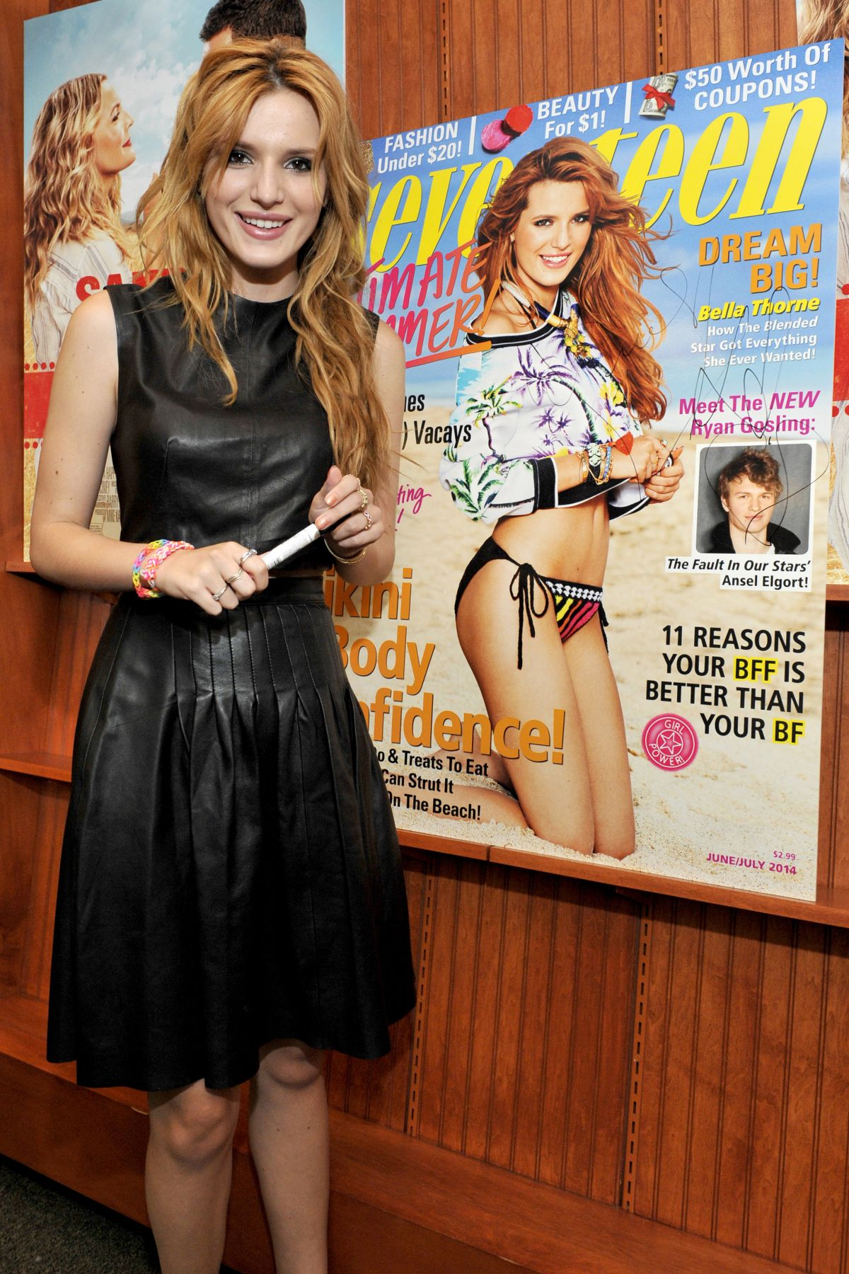 BELLA THORNE at Seventeen Magazine Signing in Oak Brook