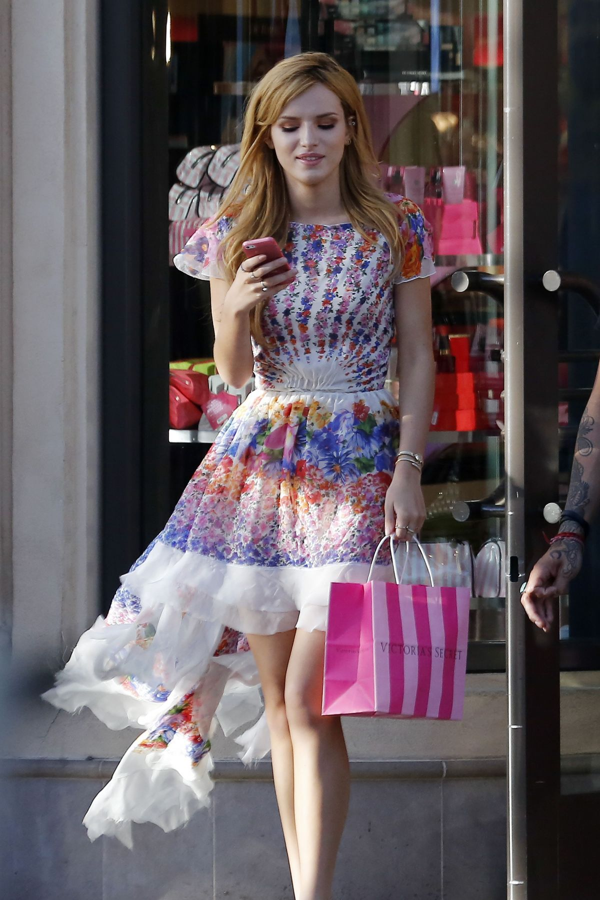 BELLA THORNE Leaves Victoria