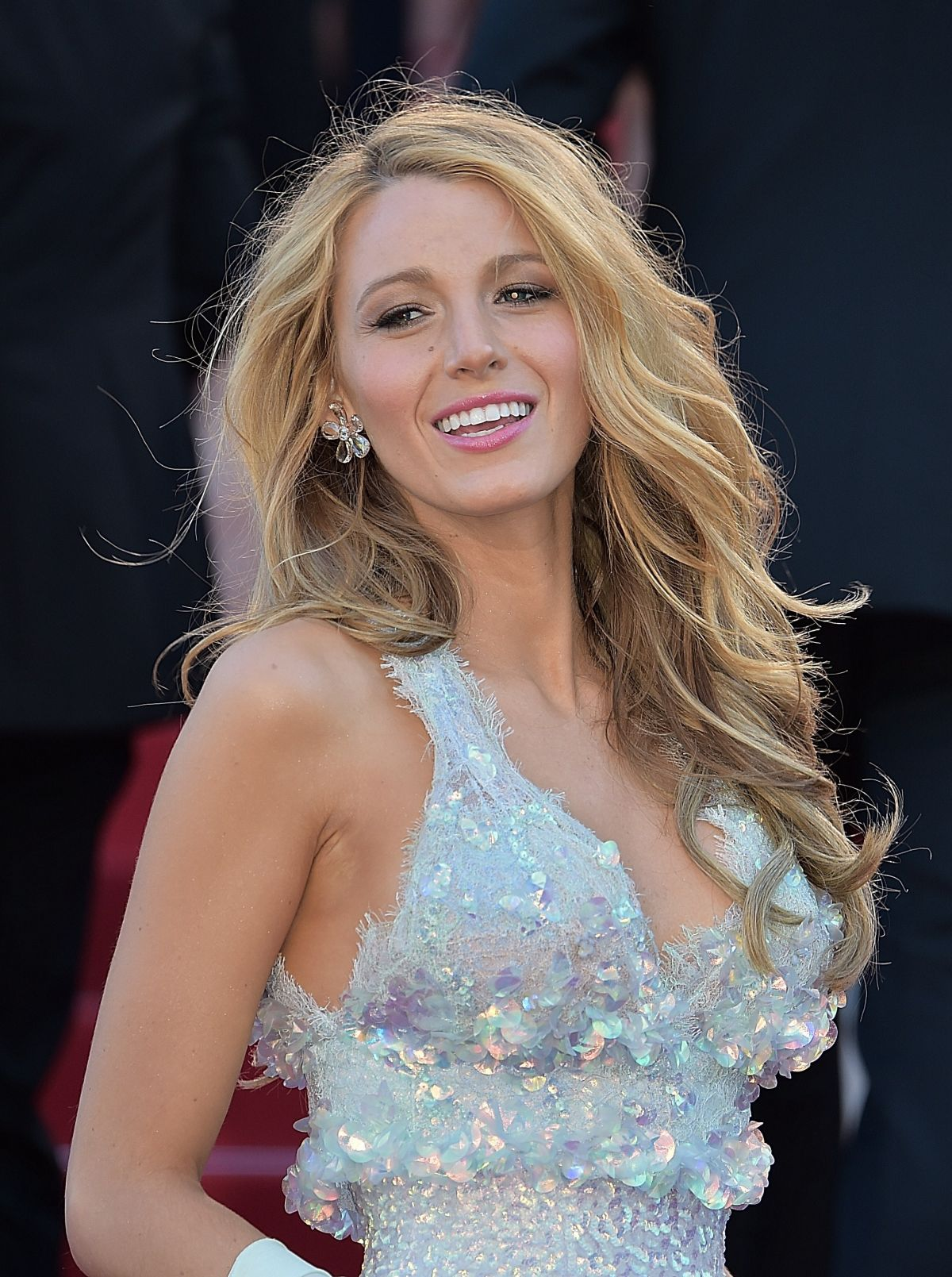 Blake Lively At Mr Turner Premiere At Cannes Film Festival