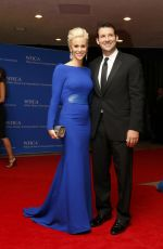 CANDICE CRAWFORD at White House Correspondents Association Dinner 2014 in Washington