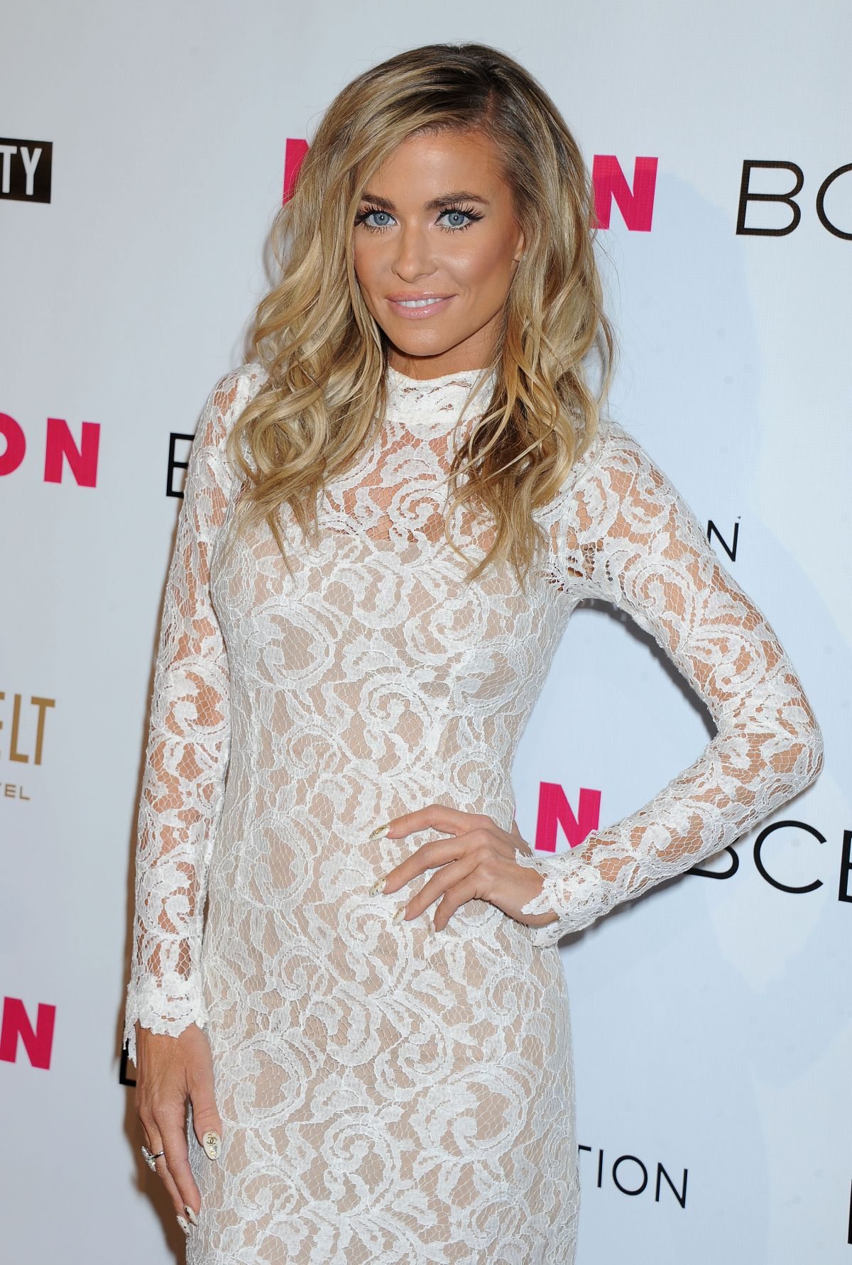 CARMEN ELECTRA at Nylon Magazine Young Hollywood Party in Los Angeles