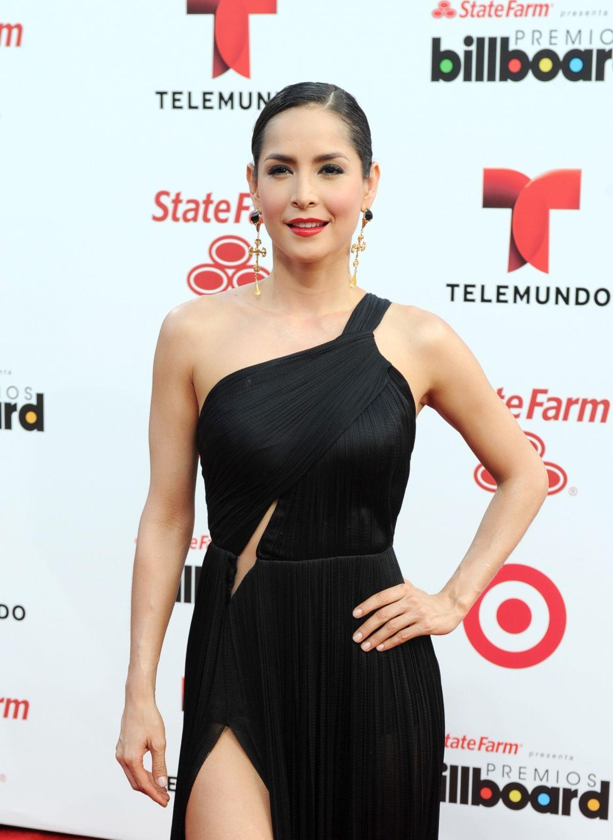 CARMEN VILLALOBOS at 2014 Billboard Latin Music Awards in Miami