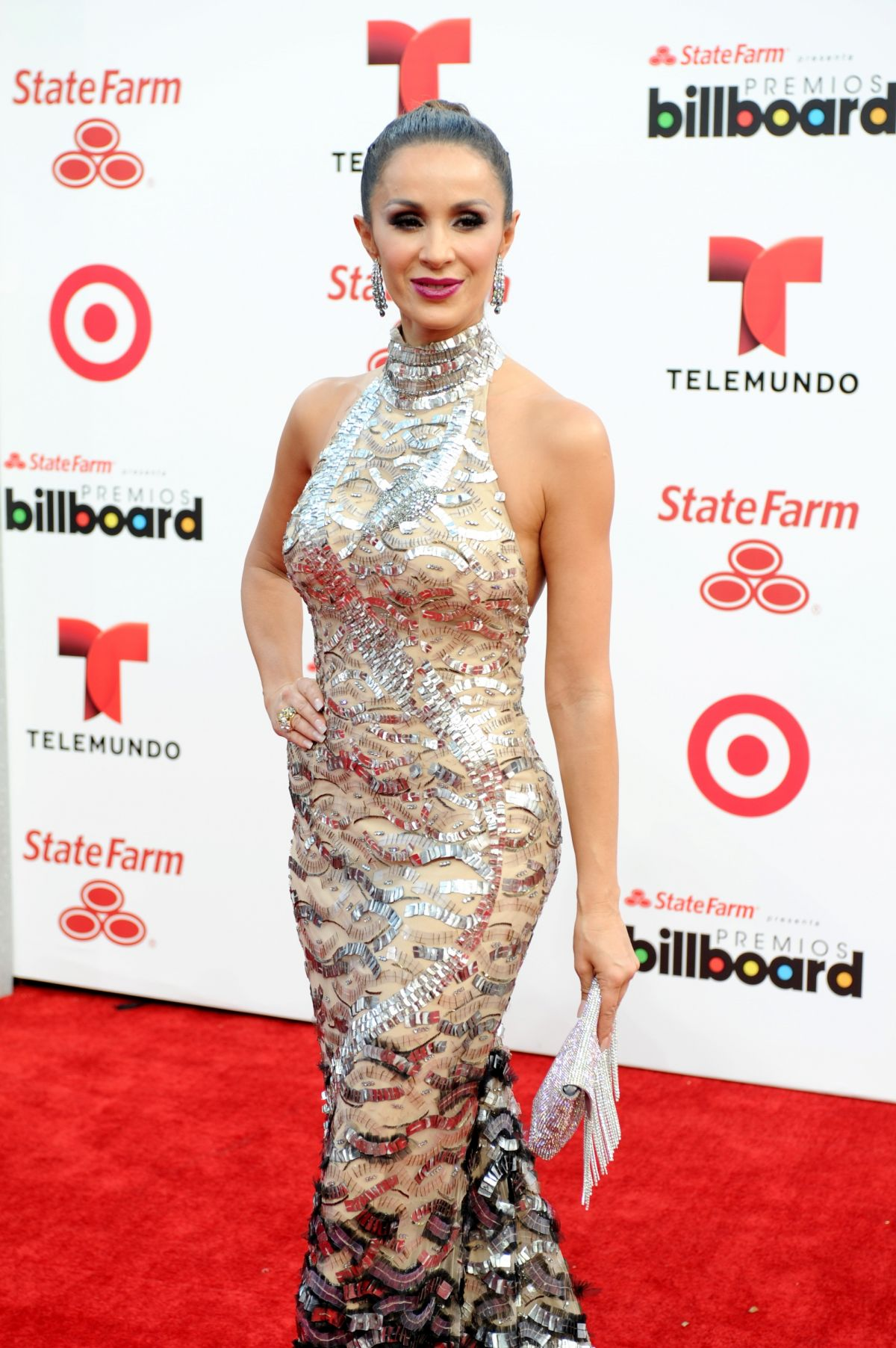 CATHERINE SIACHOQUE at 2014 Billboard Latin Music Awards in Miami