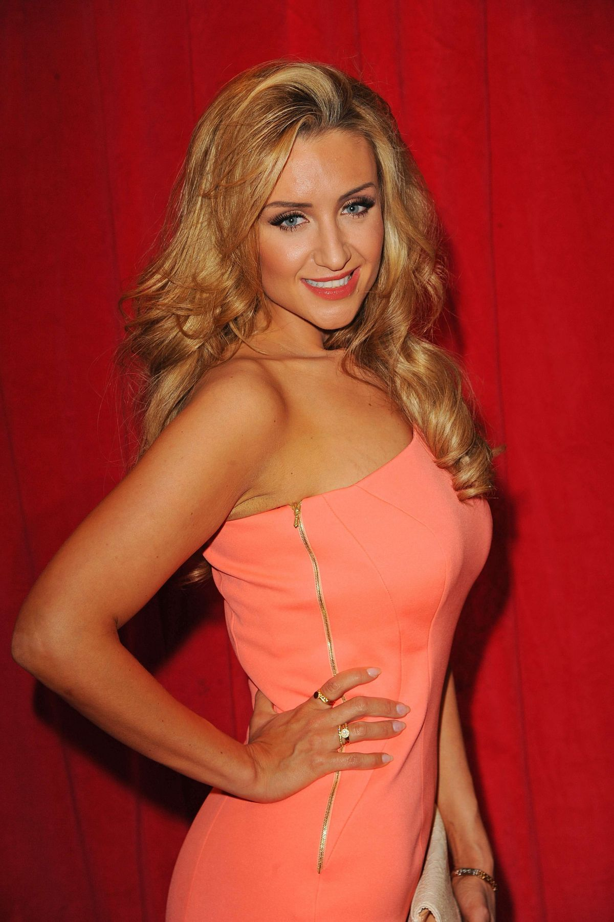 CATHERINE TYLEDESLEY at British Soap Awards 2014 in London