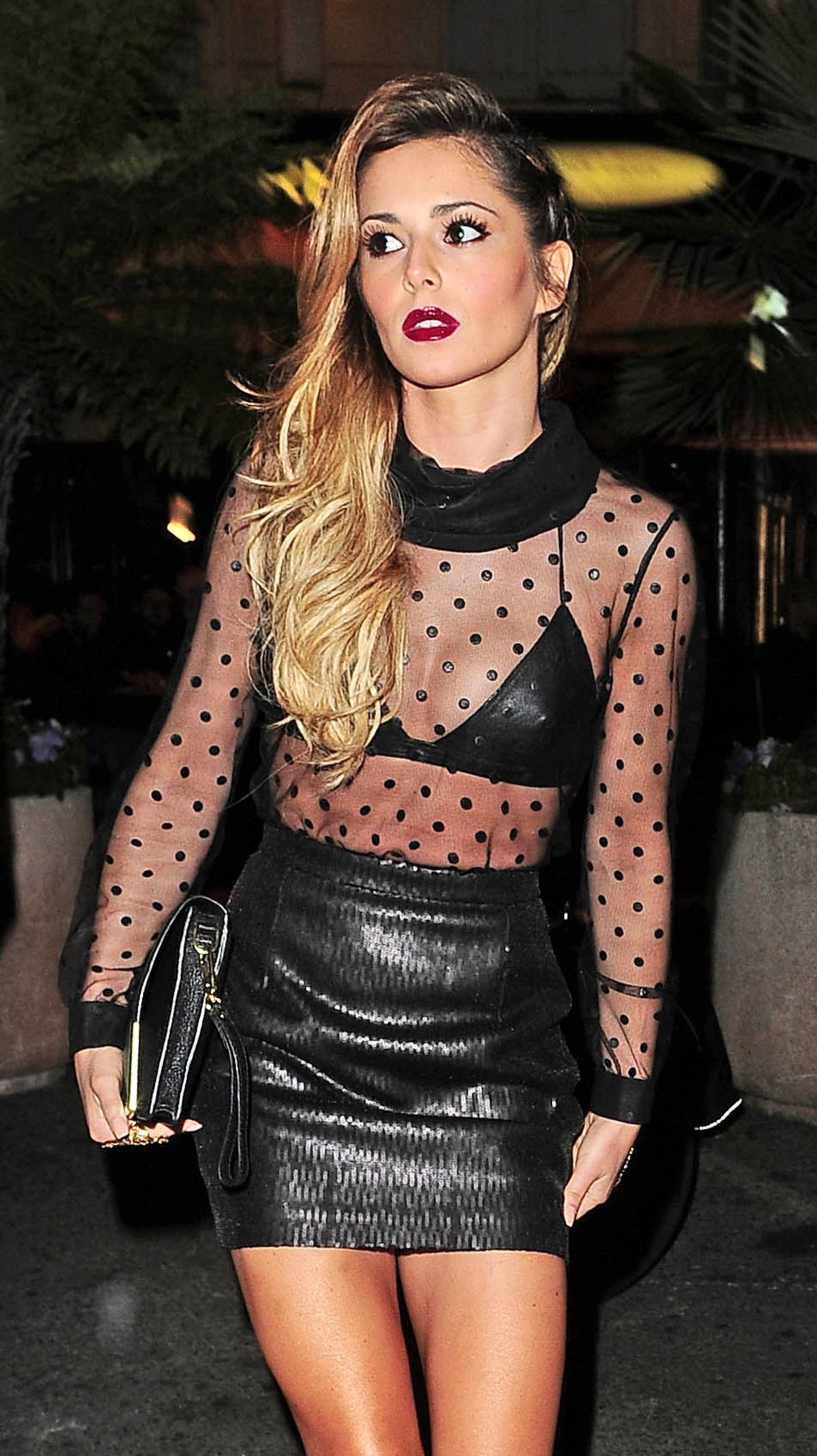 CHERYL COLE Arrives at Cosy Box Club in Cannes ... Cheryl Cole