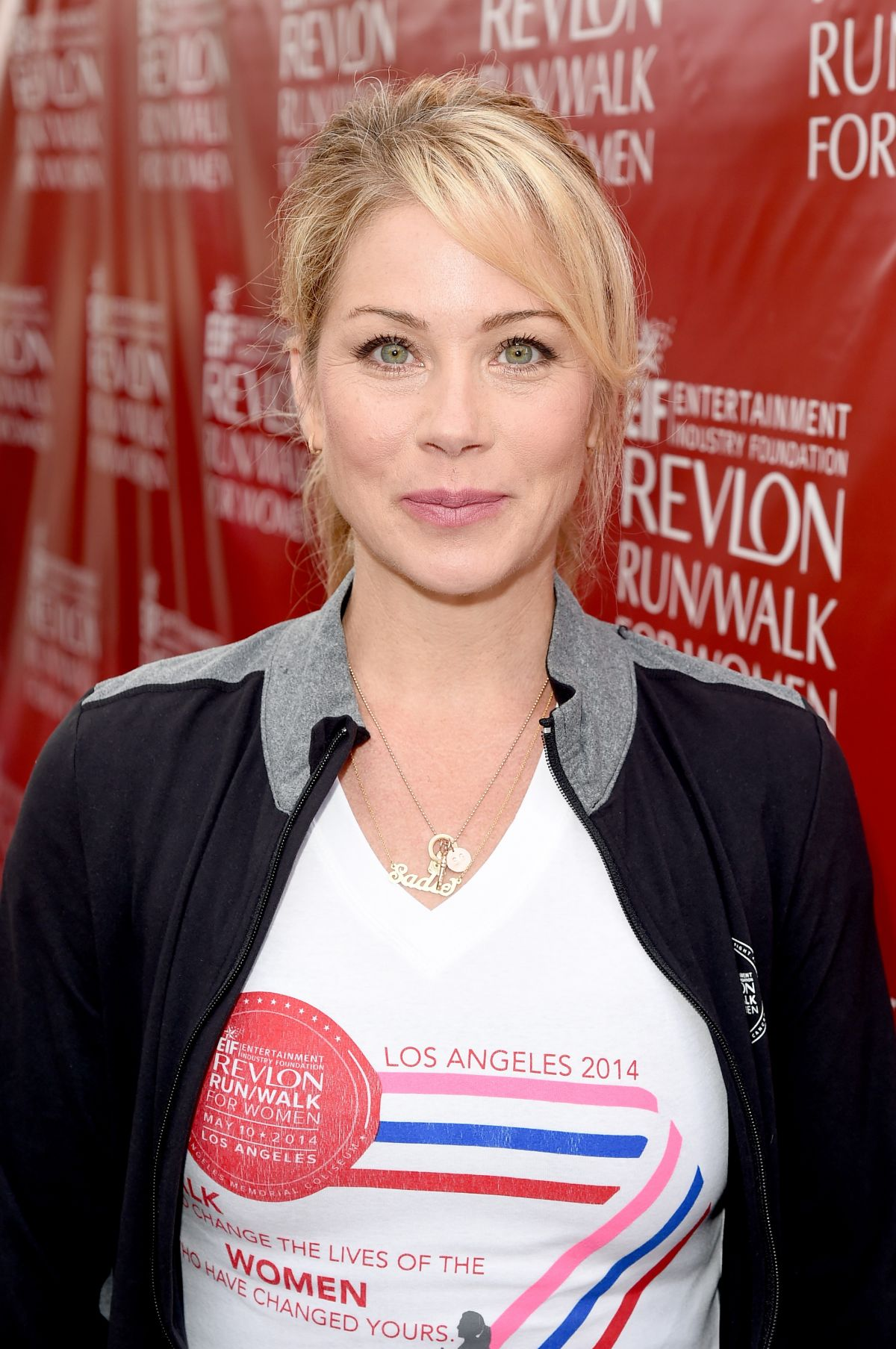 CHRISTINA APPLEGATE at 2014 EIF Revlon Run Walk for Women in New York