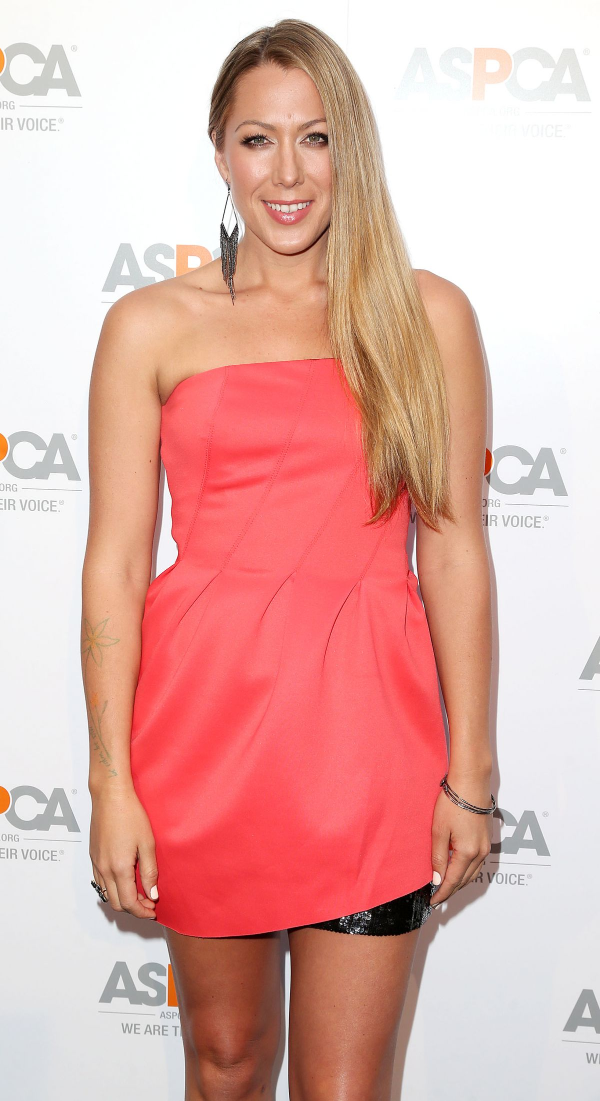COLBIE CAILLAT at Aspca's Commitment to Save Animals Celebration