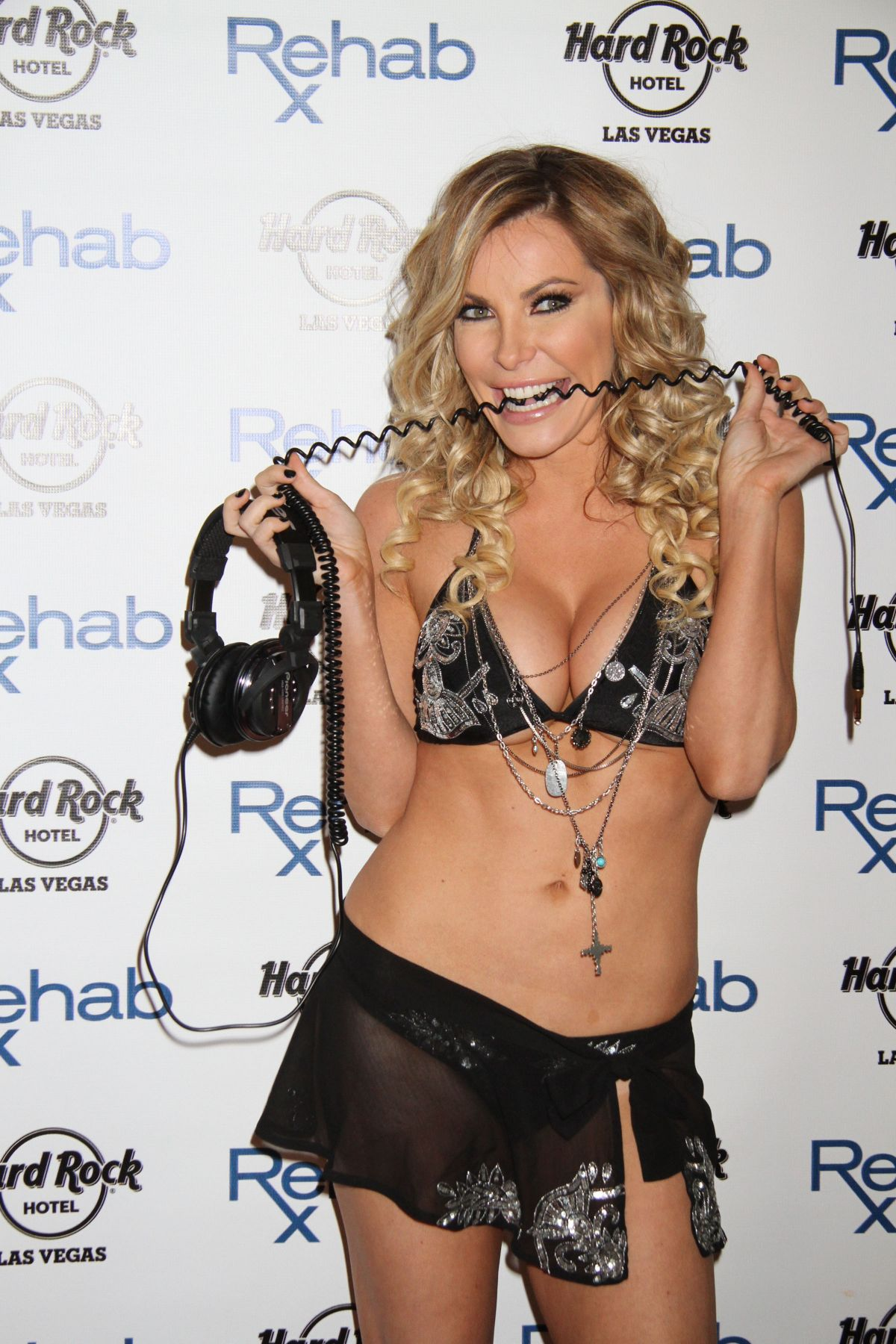 CRYSTAL HEFNER at Rehab Bikini Invitational Round 1 in Las Vegas