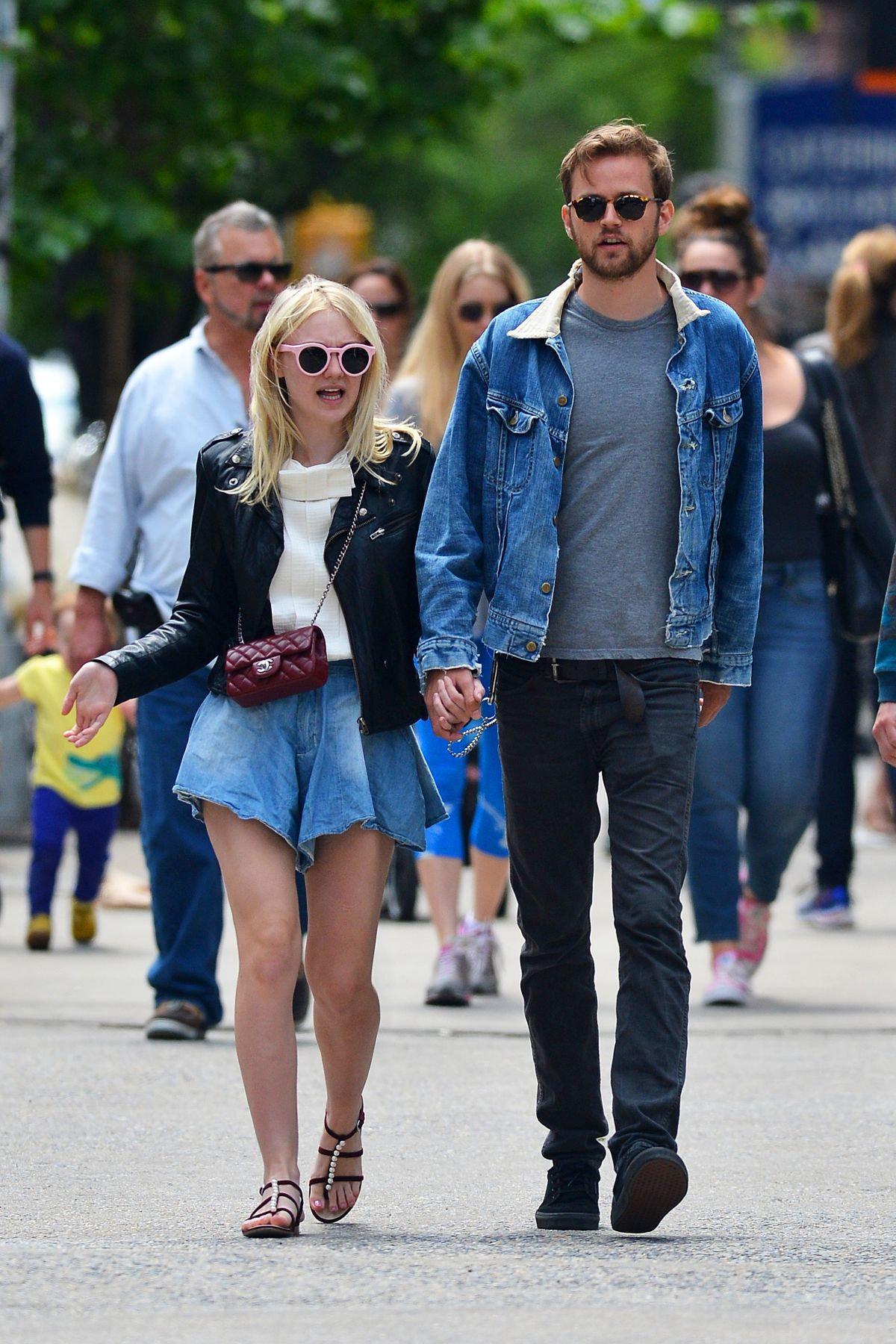 DAKOTA FANNING and Jam... Dakota Fanning Boyfriend