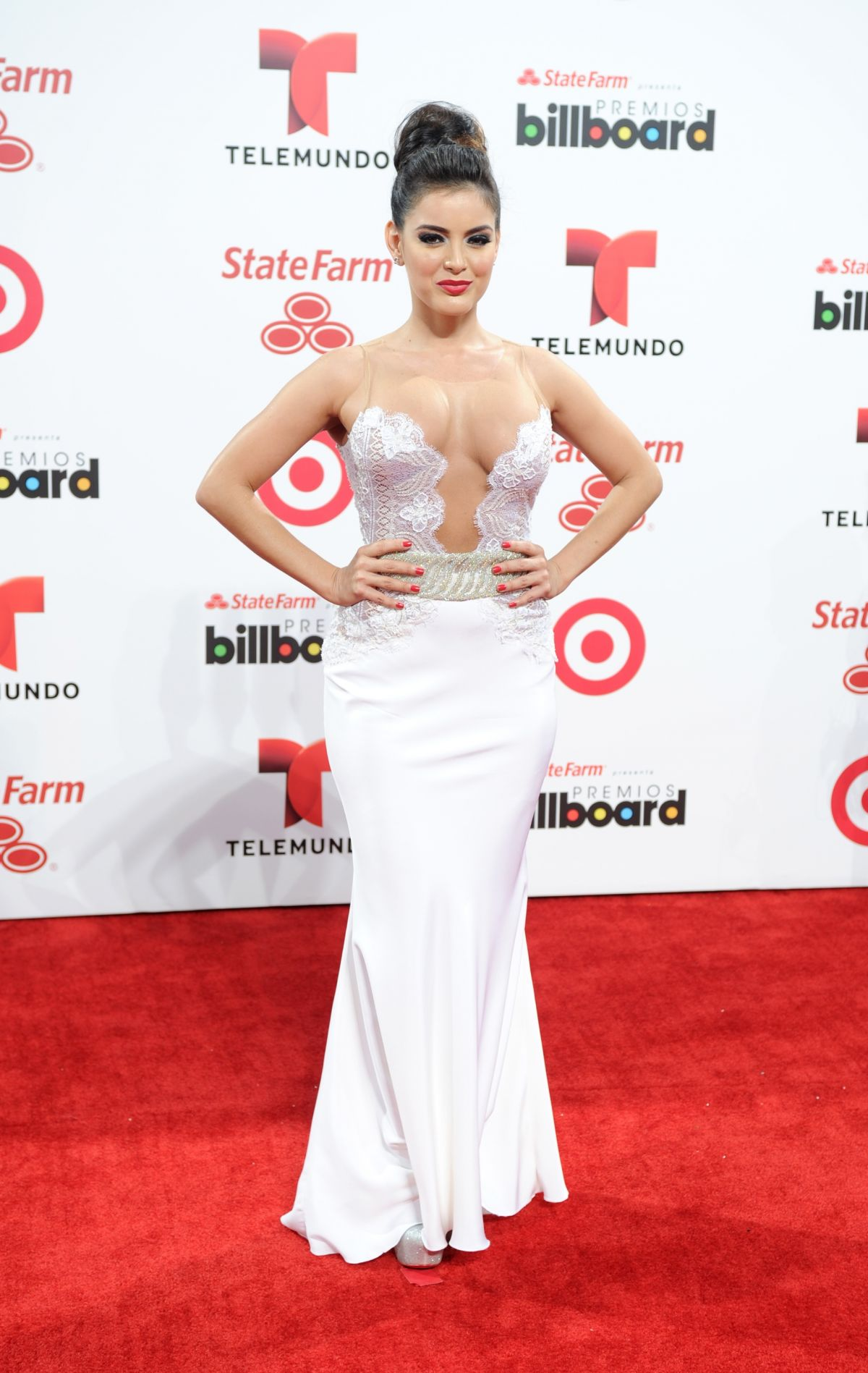 DANEILA NAVARRO at 2014 Billboard Latin Music Awards in Miami
