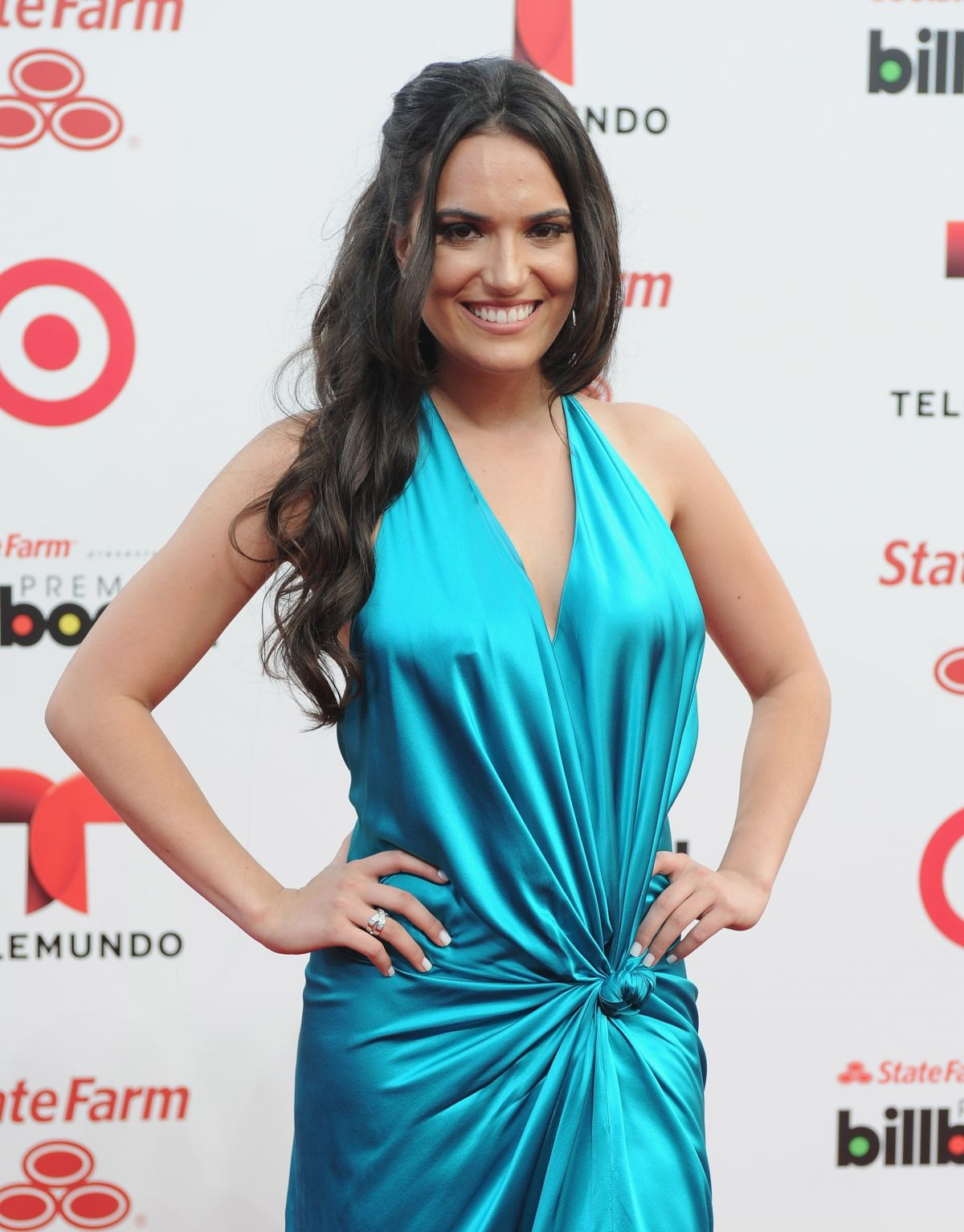 DANIELA MACIAS at 2014 Billboard Latin Music Awards in Miami