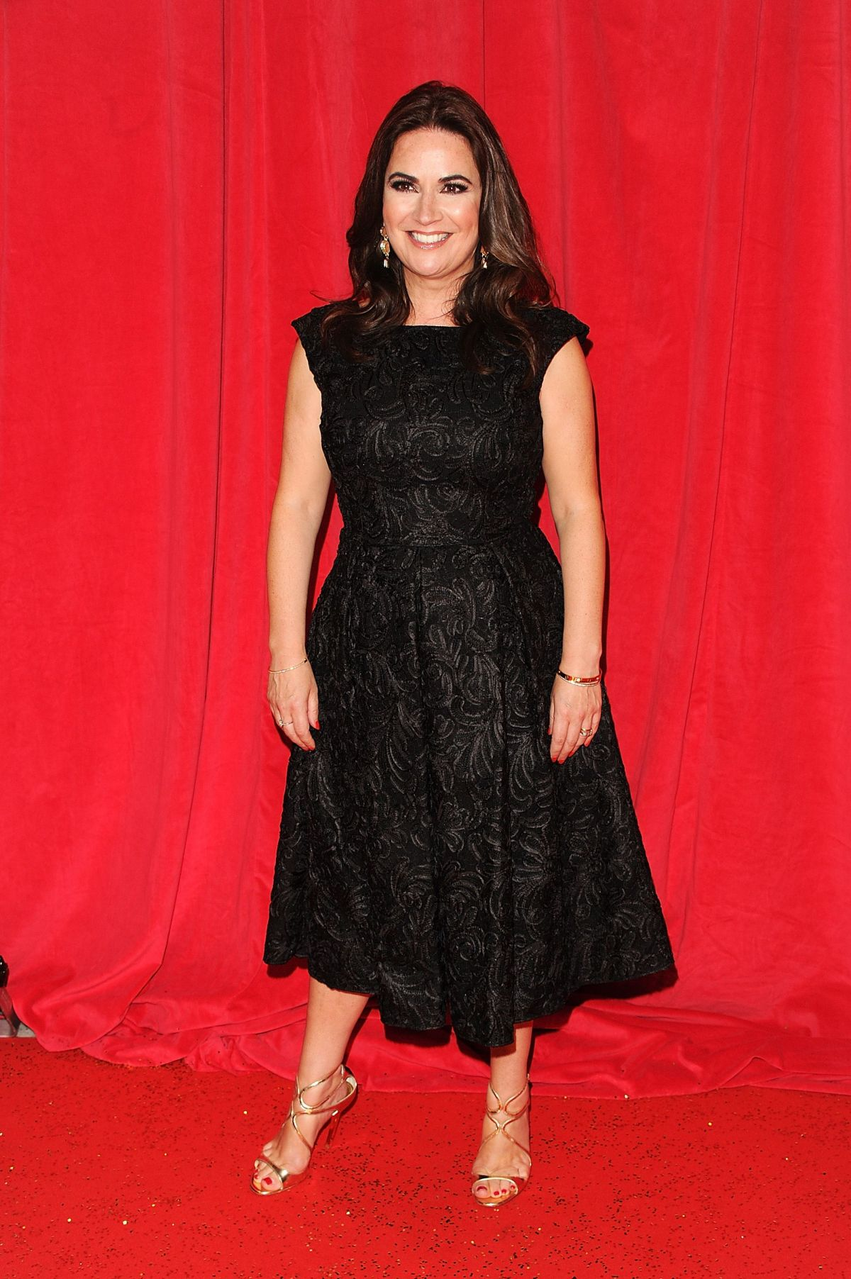 DEBBIE RUSH at British Soap Awards 2014 in London