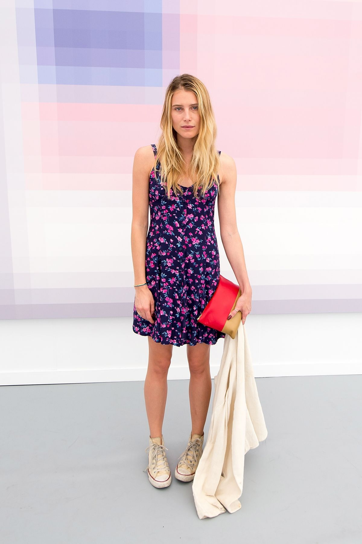DREE HEMINGWAY at Frieze Art Fair in New York