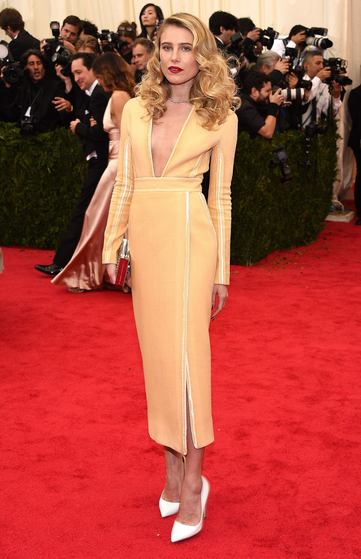 DREE HEMINGWAY at MET Gala 2014 in New York