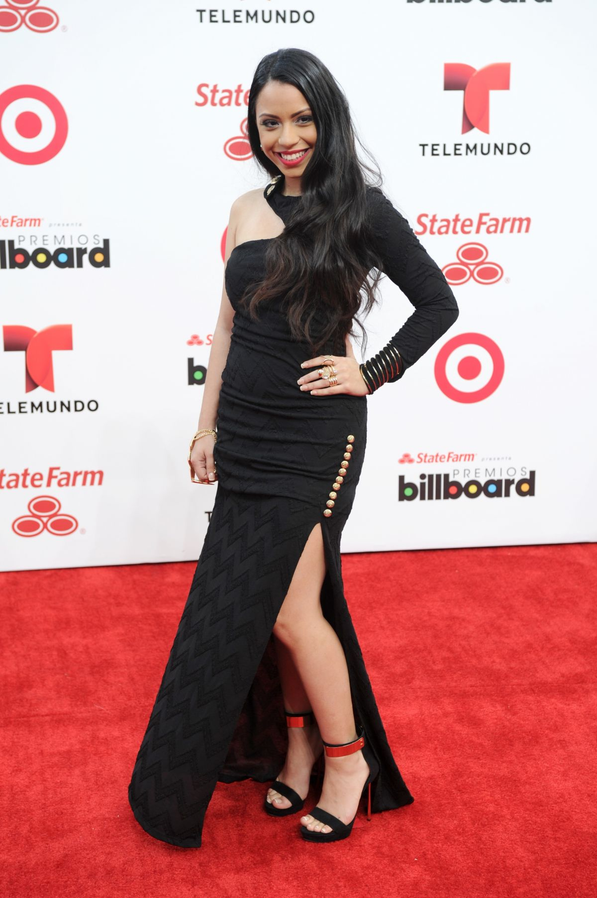 ELI JAS at 2014 Billboard Latin Music Awards in Miami