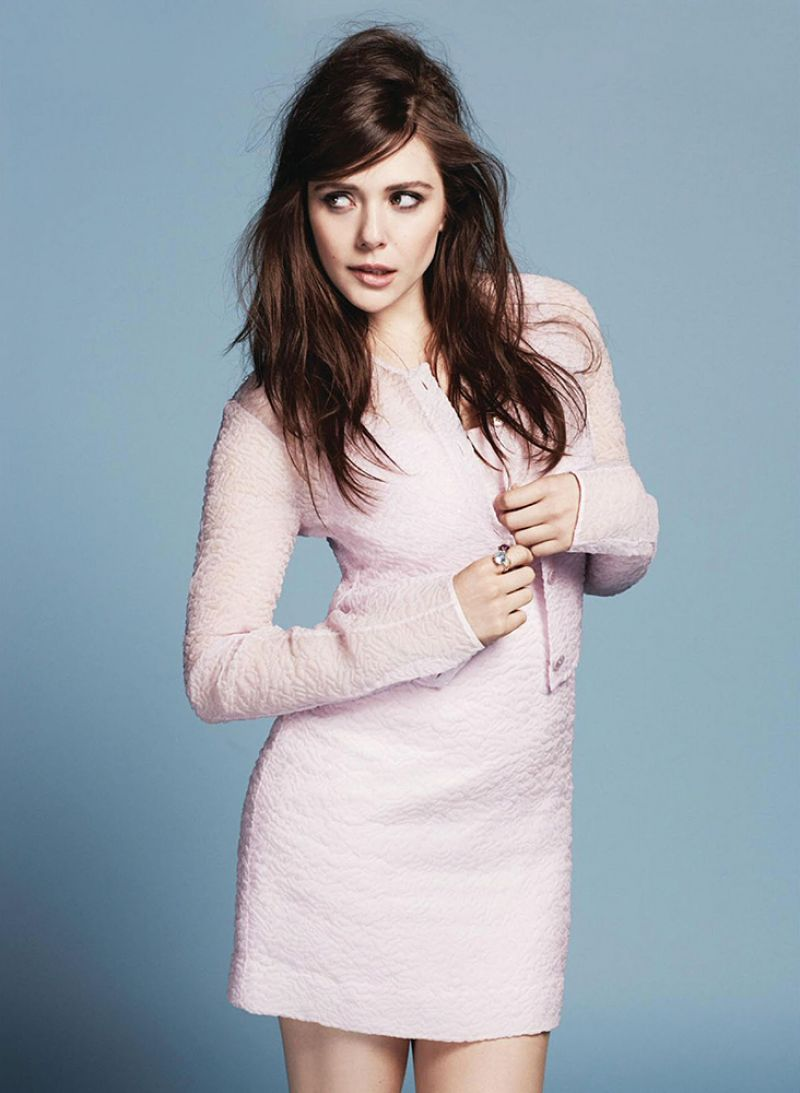 ELIZABETH OLSEN in Marie Claire Magazine, June 2014 Issue