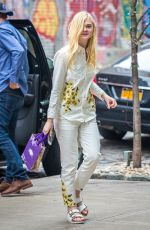 ELLE FANNING Out and About in New York 1505