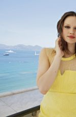EMILIA SCHULE at a Photoshoot in Cannes