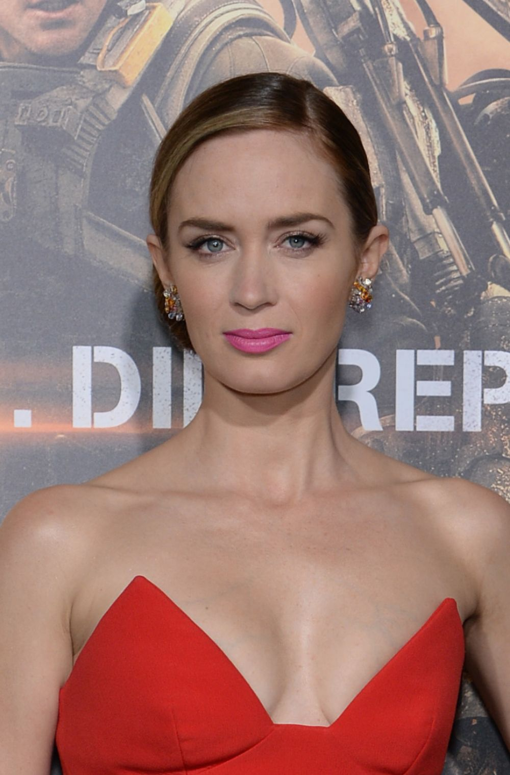 Emily Blunt At Edge Of Tomorrow Premiere In New York Hawtcelebs
