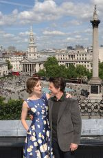EMILY BLUNT at The Edge of Tomorrow Photocall in London