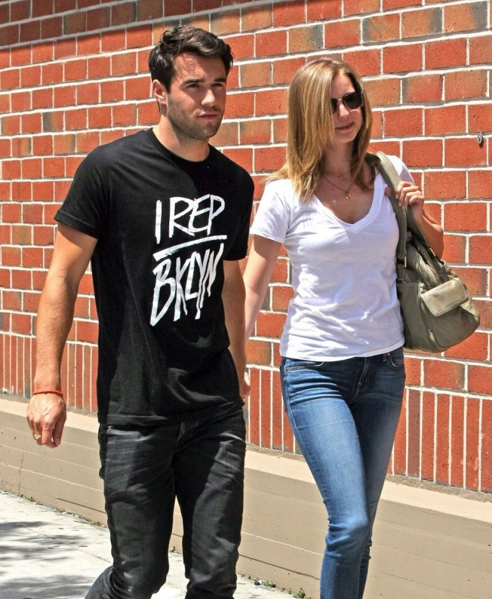 EMILY VANCAMP and Joshua Bowman Out in Beverly Hills ...  EMILY VANCAMP a...
