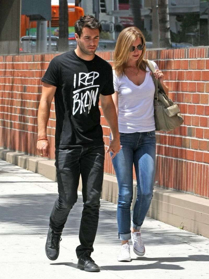 EMILY VANCAMP and Joshua Bowman Out in Beverly Hills ...