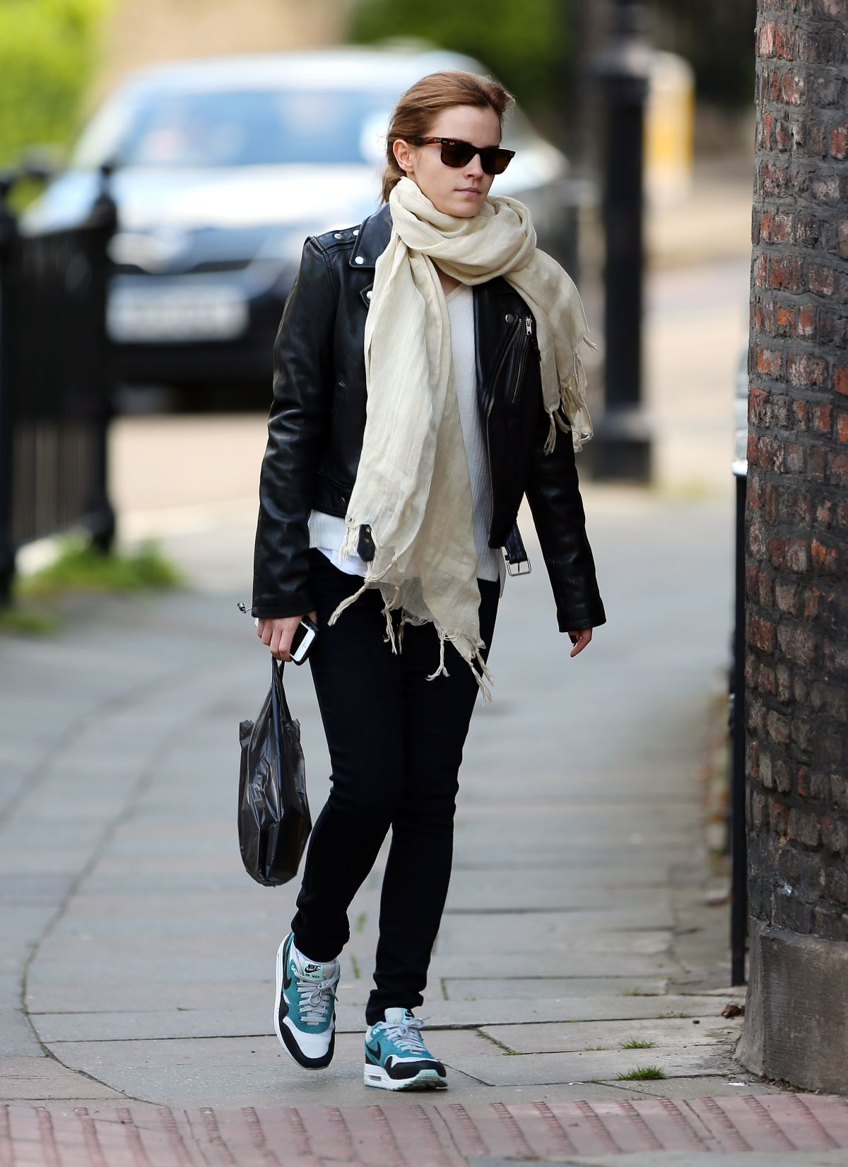 Emma Watson Out And About In London Hawtcelebs