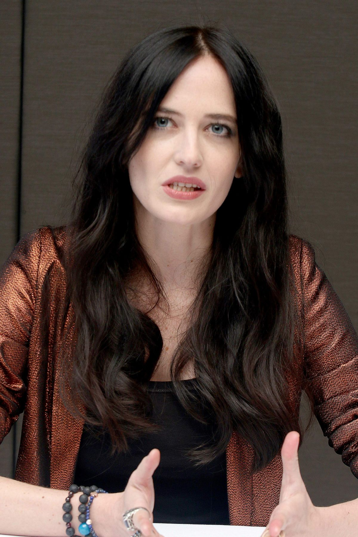 EVA GREEN – Munawar hHosain Press Conference Portraits for Penny ...