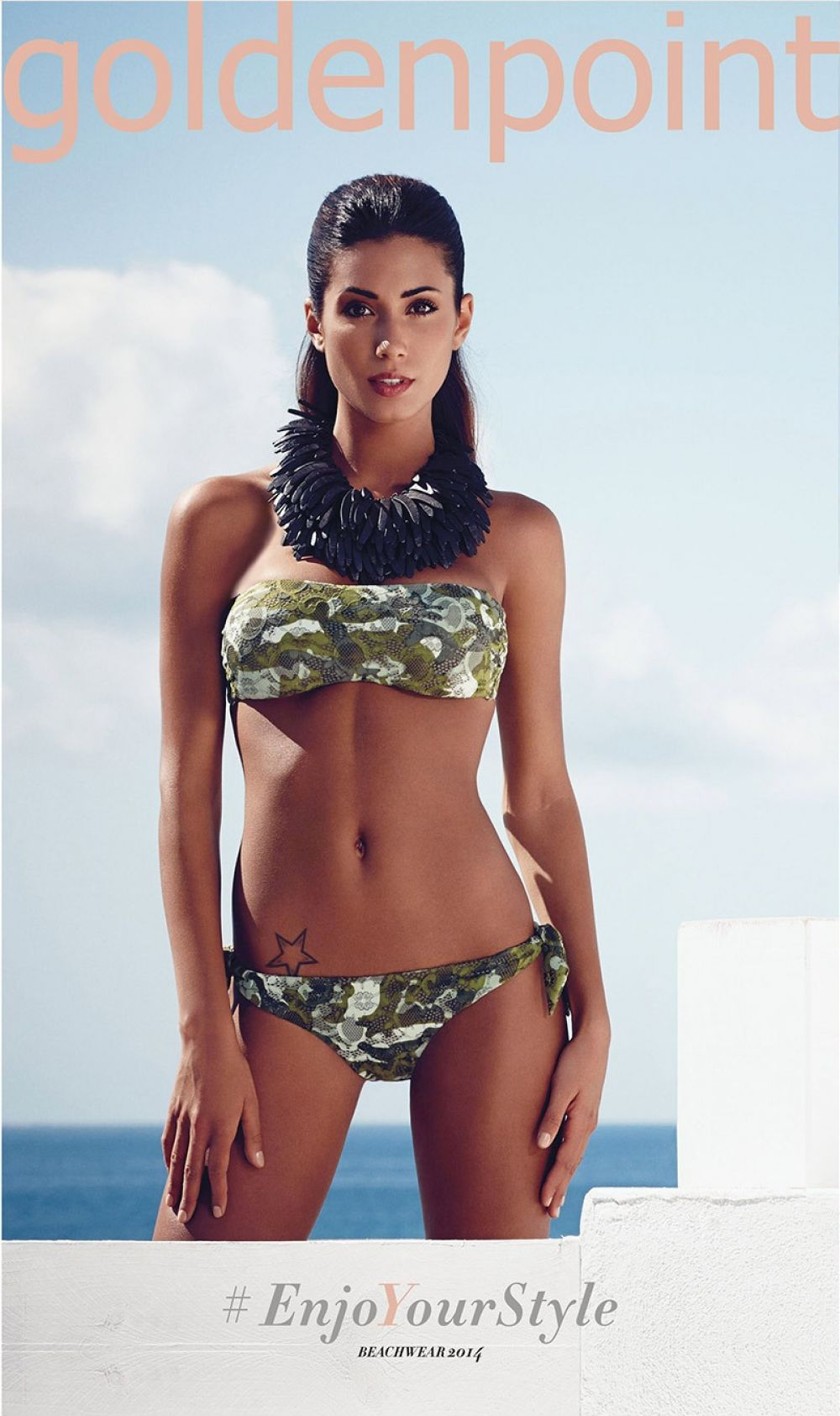 FEDERICA MARGI - Goldenpoint Swimwear 2014 Collection