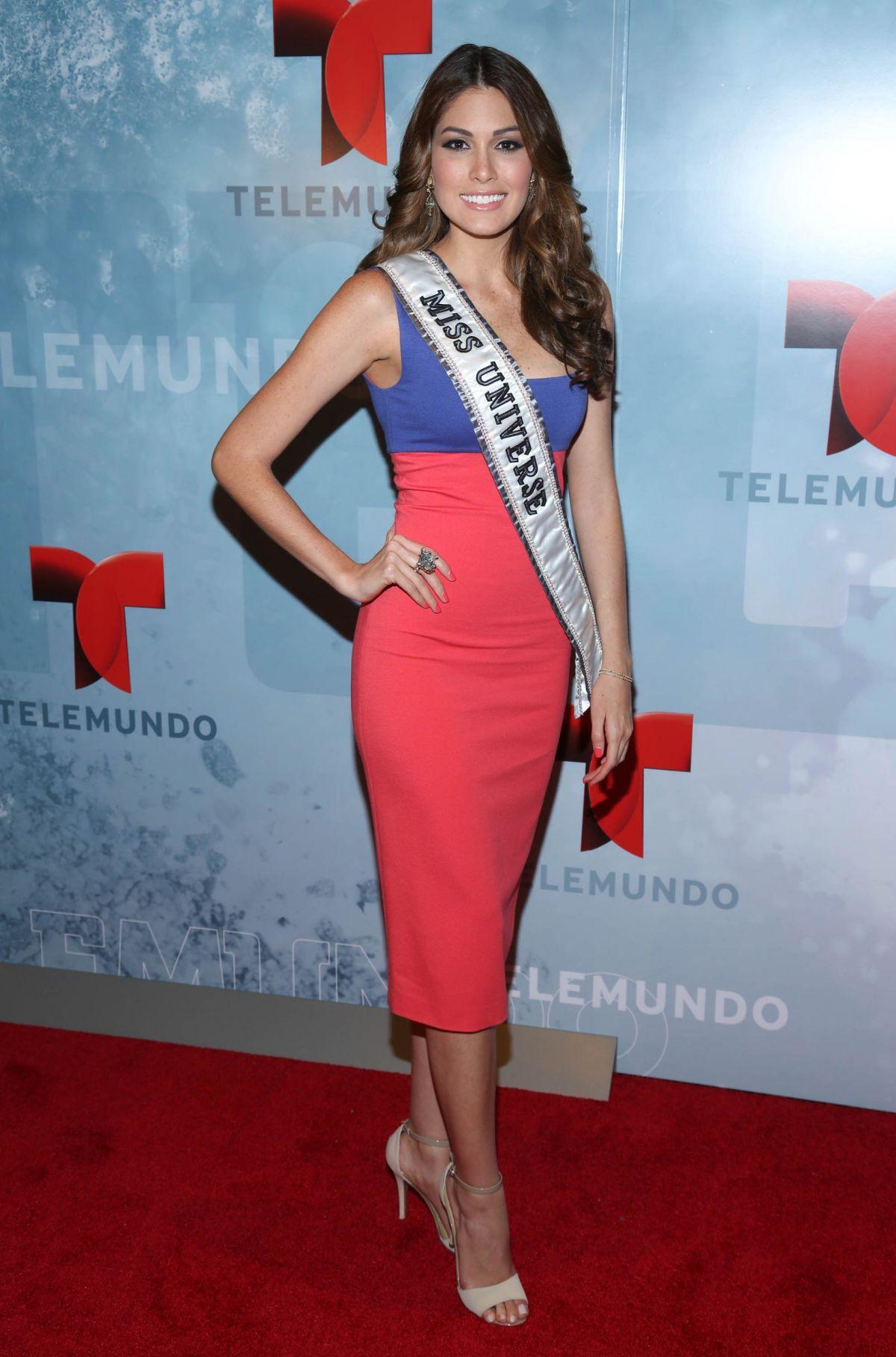 GABRIELA ISLER at Telemundo Upfront 2014 in New York