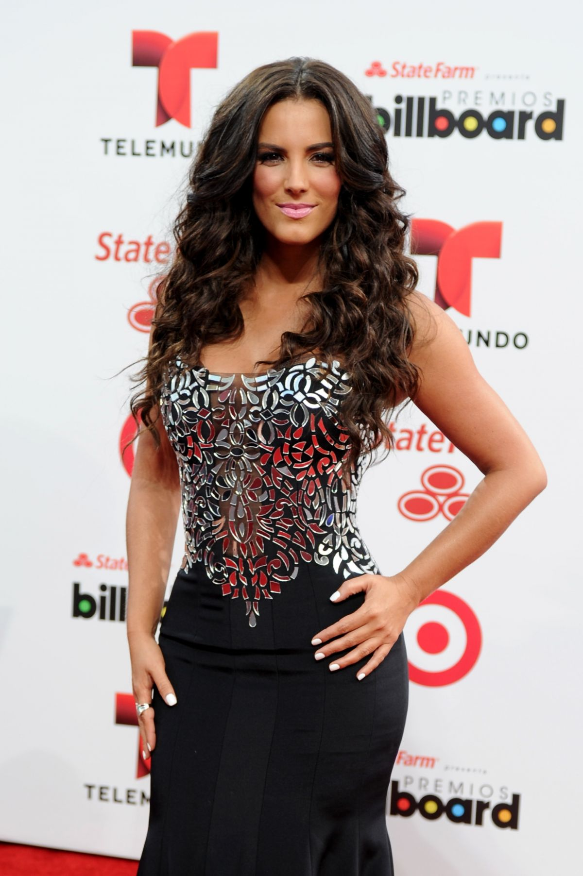 GABY ESPINO at 2014 Billboard Latin Music Awards in Miami